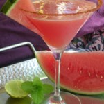 Летний напиток из арбуза