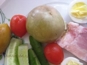 Рецепт засолки зеленых помидоров в холодной воде