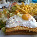 Крок-Месье и Крок-Мадам – французские бутерброды