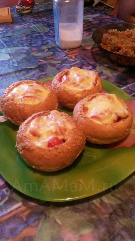 Рецепт вкусных булочек с начинкой