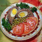 Шотландский глаз или яйца по-шотландски (в котлете)