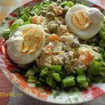Салат с куриной грудкой и авокадо