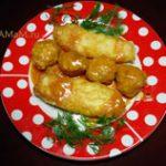 Куриные тефтели в сметанно-томатном соусе