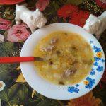 Суп Рассольник на говяжьем бульоне