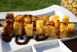 Рецепт ананаса в карамели - очень вкусный и простой десерт