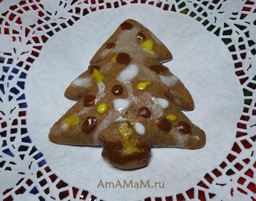 Очень вкусные имбирные пряники - оригинальный подарок на Новый год!