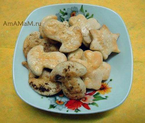 Печенье с корицей из слоеного теста - легкий рецепт с фото