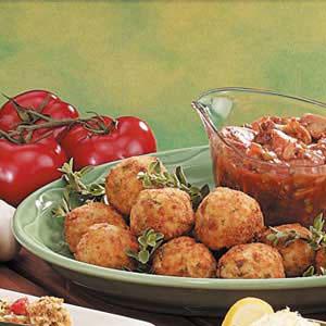 Итальянские рисовые шарики аранчини - рецепт и фото