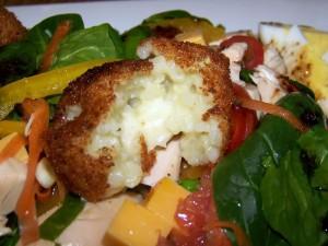 Рисовые крокеты с сыром - рецепт аранчини , фото и видео