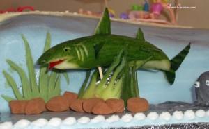 Фото огуречной акулы - как сделать акулу своими руками из овощей