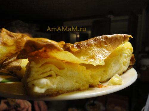 Вкусная кавказская еды: ачма по-абхазски