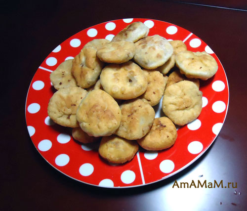 Как делать пирожки с бездрожжевым тестом (жареные)