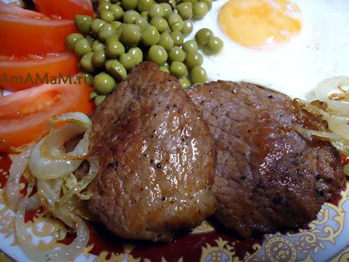 Рецепт жареной свинины (эскалопа) - особенности и советы с фото