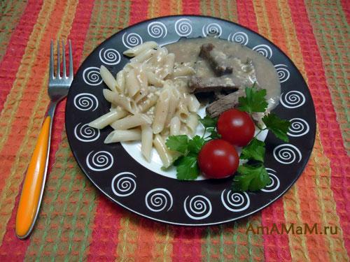 Простой и вкусный рецепт приготовления говядины с соусом