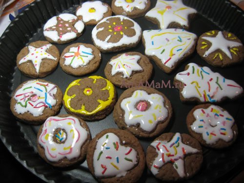 Фото имбирного печенья и рецепт