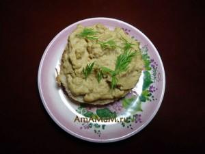 Рецепт из молок - вкусный рыбный паштет с оливками