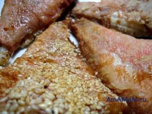 Рецепт жареной рыбы в панировке - очень вкусный морской окунь с разными вкусами