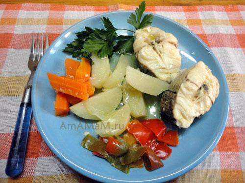 Фото блюда из пикши и рецепт