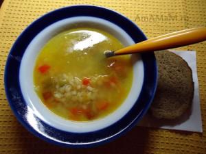 Рецепт из красной чечевицы - вкусный суп на говяжьем бульоне