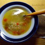 Суп из красной чечевицы на говяжьем бульоне