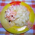 Тушеный картофель с луком и сливочным маслом