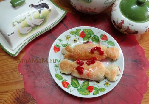 Вкусные и простые пирожки из покупного теста
