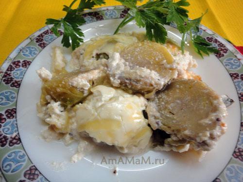 Вкусная овощная запеканка из брюссельской капусты - рецепт и фото
