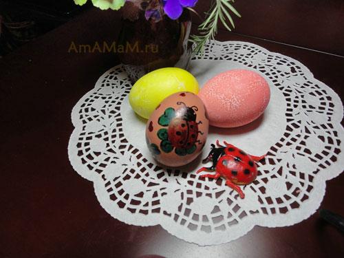 Фото пасхальных яичек