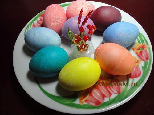 Пасха - почему яйца красят