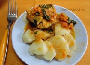 Рецепт хека в томате - просто и вкусно!