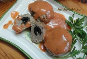 Котлеты с томатным соусом - рецепт и фото