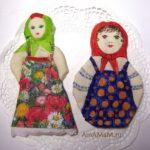 Подарок на 8 марта своими руками — куклы из соленого теста