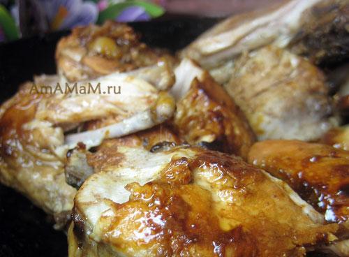 Вкусная курица в кисло-сладком соусе - простой рецепт и фото