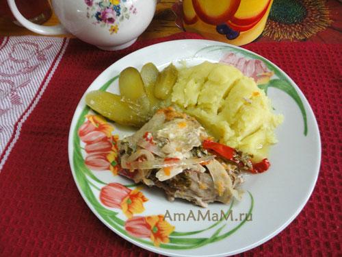 Курочка с картошкой - простой рецепт вкусного ужина или обеда