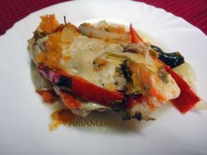 Вкусное блюдо из тушеной курицы в духовке с фото
