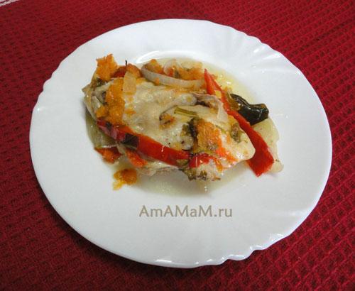 Как сделать курочку в томате - рецепт и фото блюда