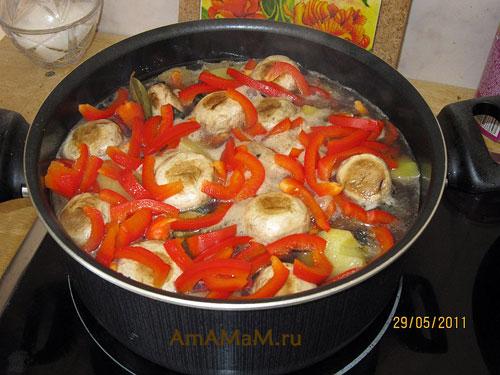 Блюдо из мяса и баклажан с фото