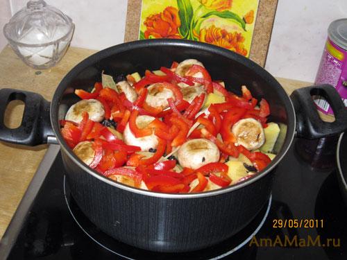 Классический салат из крабовых палочек с рисом рецепт