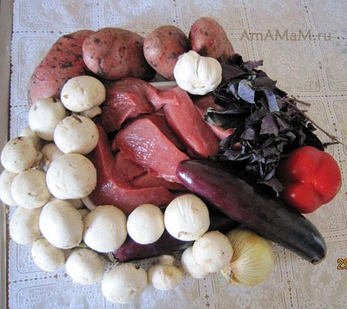 Что положить в тушеное мясо - вкусный рецепт рагу с овощами и грибами