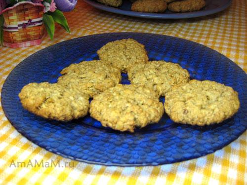 Печенье из геркулеса - вкусное и простое