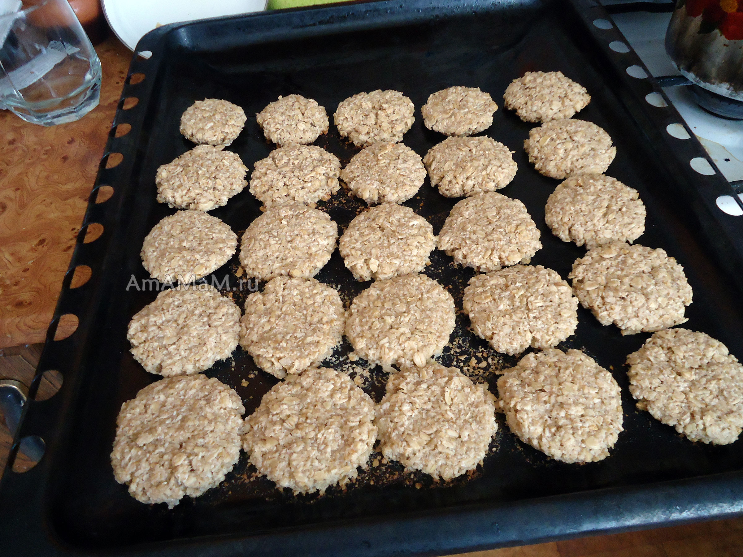 Овсяное печенье дома своими руками 151