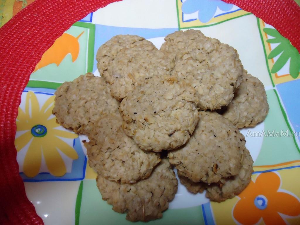 Что быстро испечь для гостей - овсяное печенье