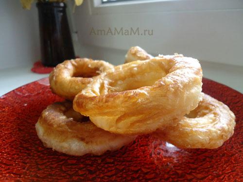 Как приготовить пышки и пончики самим - фото и рецепт