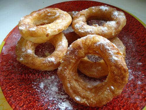 Фото вкусных домашних пышек и пончиков