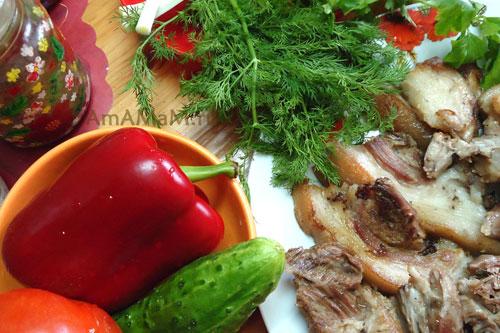 Галантин из рульки – кулинарный рецепт