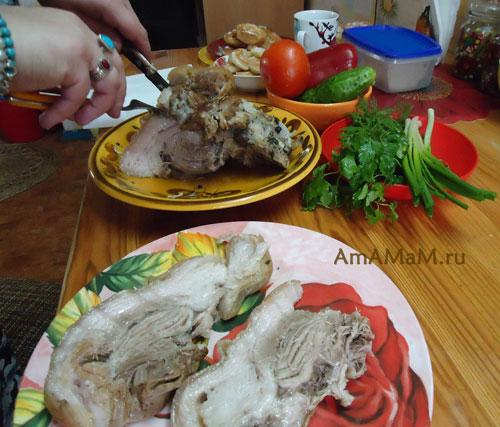 Картинки с рулькой - рецепт приготовления вкусного мяса!