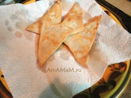 Способ приготовления вкусного печенья из готового слоеного теста с фото