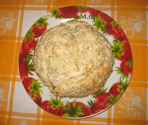 Рецепт домашнего хлеба без дрожжей - Айриш сода бред.