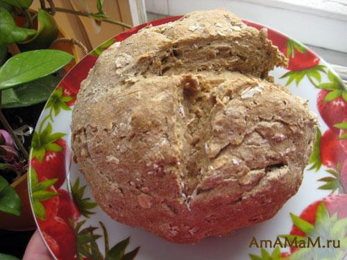 Вкусный домашний хлеб - рецепт и фото