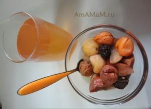 Компот из сухофруктов - рецепт и фото. Вкусный и полезный домашний напиток!